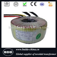 Toroidal Transformer manufacture for audio amplifier,medical,inverter power,massage chair,appliance,UPS power