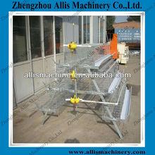 Automatic Hot Galvanized Multi-tier Chicken Cage