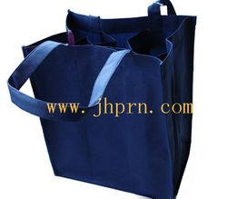 professional eco friendly non woven wine bottle tote bags