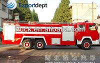 10 - 20 ton 6*4 Steyr / HOWO Fire truck ,Fire Engine Truck, water tank foam fire fighting truck