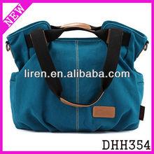 2013 fashion stylish convertible women's canvas tote bag