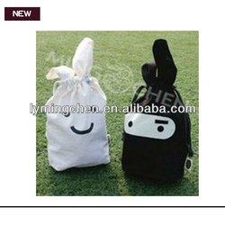 Cute handmade linen gift bags