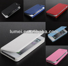 Hot PU Leather Hard cell phone Case Folio Pouch Front Cover for iPhone 5 5G