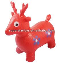 kids riding animal toys, horse jumps 213040101-2