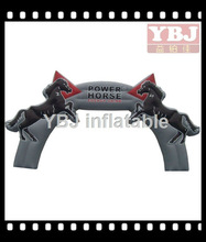 Sports POWER HORSE good looking inflatable arch