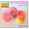 4.5Cm Cheap Plastic Toys For Children Rainbow Slinky Spring