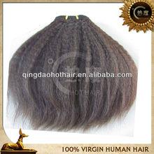 New arrival fashionable wholesale AAAAA grade 100% virgin kinky straight kinky kinky straight hair