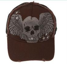 Stylish Skull Wings Printing Men Baseball Caps