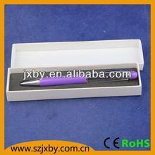 plastic liquid pen with led flashing