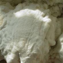 tanned white rex rabbit skins