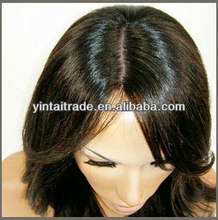 Glueless (JEWISH) &amp; Malaysian HUMAN HAIR Lace Wigs silk top wholesale price, cheap