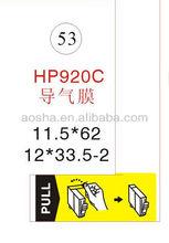 Universal Inkjet Cartridge Sticker Sealing Label For HP 364/920/564/178/862 BK/C/M/Y OEM Remanufactured Cartridges