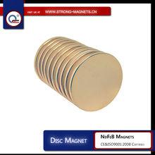 sintered cylinder ndfeb magnet for moto