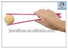 flexible silicone food tongs, bread pliers, kitchen tweezer