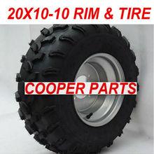 20x10-10 ATV Wheel Assy,Include the Rim and Tire