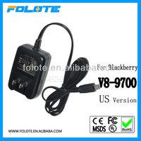Original charger V3- 9700 for Blackberry mobile phone charger US plug v3 mini