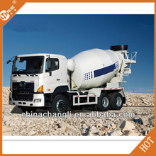 High quality used for concrete batching plant HOWO 6m3 self loading concrete mixer truck