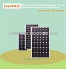 high efficiency mono-crystalline solar panel 80w-250w
