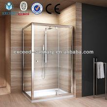 Luxury toughened glass shower room