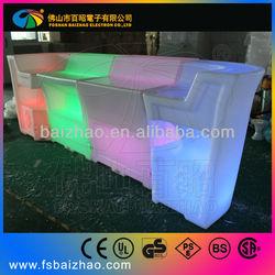led 1/4 round bar counter/led bar//led furniture