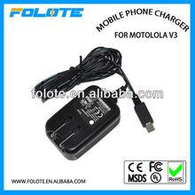 MAINS CHARGER FOR MOTOROLA L2 L6 MOTO Z10 PEBL U6 RAZR max Mobile Phone V3 V3xx