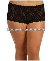 Hot Design Lady Boy Shorts,.Lace Boxers Panties