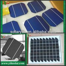 2013 hot sale 125x125mm high efficiency sunpower monocrystalline solar cells panel