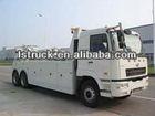wrecker towing truck