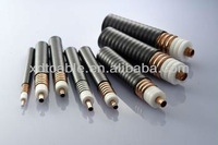 Coaxial cable with physically foamed PE insulation and sheath for cable distribution system for RF Cable
