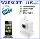 Low cost Mini Style Wireless Wifi Dual Audio IP Webcam Camera Security