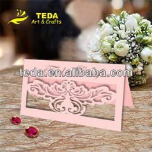 Liaocheng Teda Pink Place cards(TC-002)