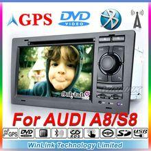 Original UI dvd 1 din auto for Audi A8 S8