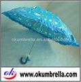 azul de dibujos animados paraguas de los niños con silbato de regalo