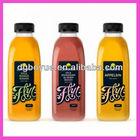 Custom making adhesive soft drink bottle label