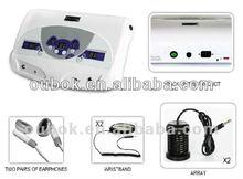 Dual big screen detox foot spa machine fpr two person use