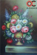 Handmade flower rose handmade oil painting