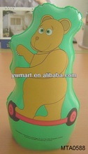 Advertising inflatable bear animal toy,inflatable bear punching bag tumbler