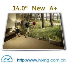 Brand New A+ 14.0 laptop lcd panel B140XW01 LTN140AT02 LTN140AT07 n140b6-L02 HT140WXB BT140GW01 HSD140PHW1