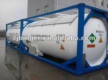 ISO tank R134a gas