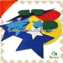 adhesive felt, felt sticker, glitter felt in different color