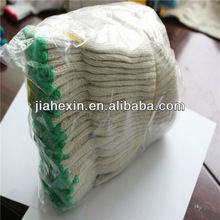 7 Gauge Natural White High quality Work Glove With All kinds design export to Singapore