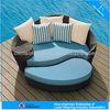 Modern poolside wicker sunbed furniture (FL015)