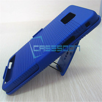 Mobile Phone Hard Holster Combo Case For Samsung Galaxy S2 i9100 With Belt C;ip