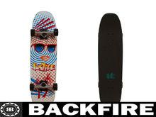 Backfire skateboard surf deck