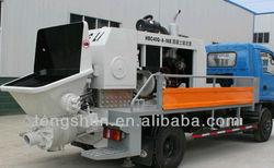Small Trailer Concrete Pump (diesel engine)