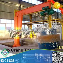 1 ton Jib crane with 360 degree slewing arm