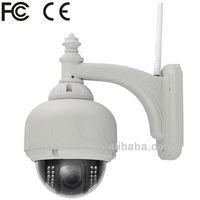 22pcs LED Waterproof Outdoor Mini High Speed Dome PTZ IR IP Camera