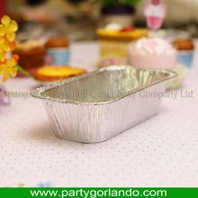 airline fast food disposable aluminium foil food container