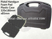 "Military Airsoft 12"" Foam Padded Box Plastic Carry Storage Hard Pistol Gun Case"