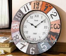50cm continental retro big wall clock WC133